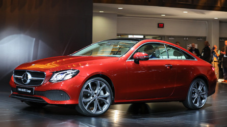 Mercedes-Benz E-Class Coupe shows off a shapely body in the Motor City