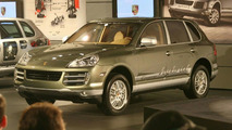 Porsche Cayenne Hybrid Displayed