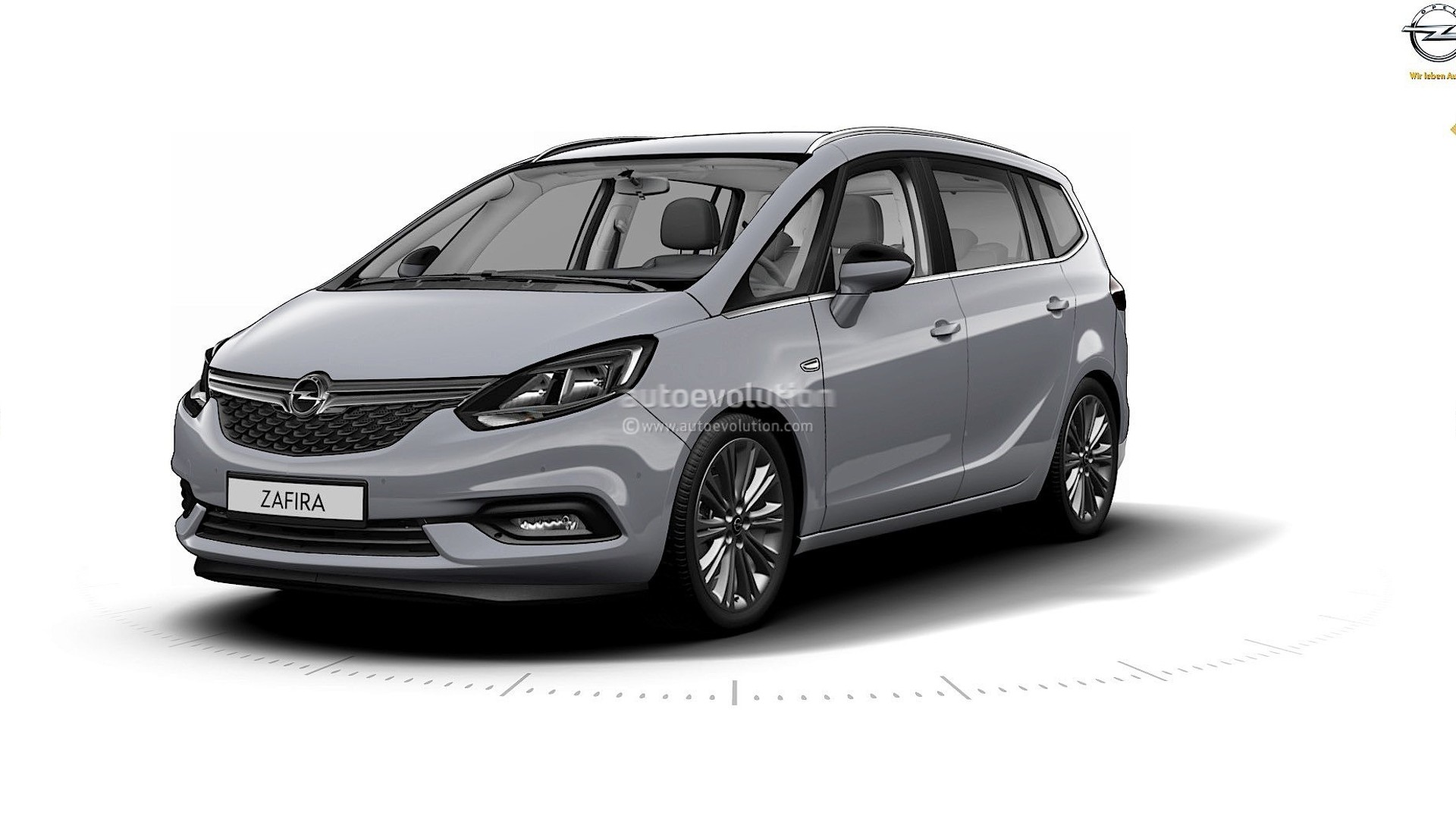 2017 opel zafira leak reveals an astra inspied front fascia. Black Bedroom Furniture Sets. Home Design Ideas