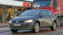 VW entry-level crosssover mule spy photo