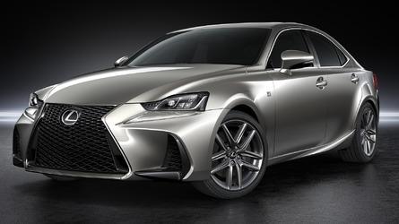 Lexus IS facelift unveiled in Beijing