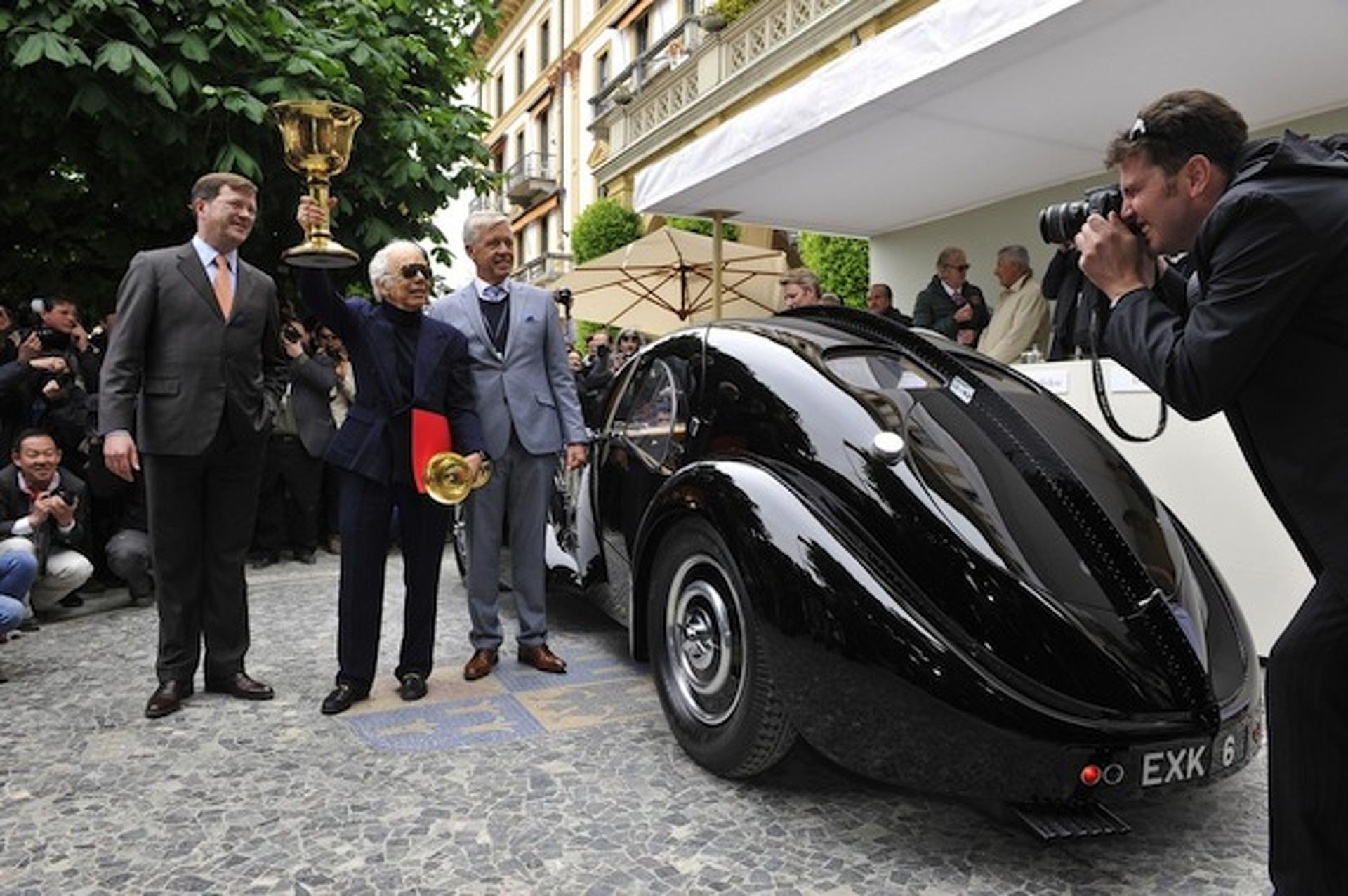 Ralph Lauren's $40M Bugatti Takes Top Honors at Concorso d'Eleganza