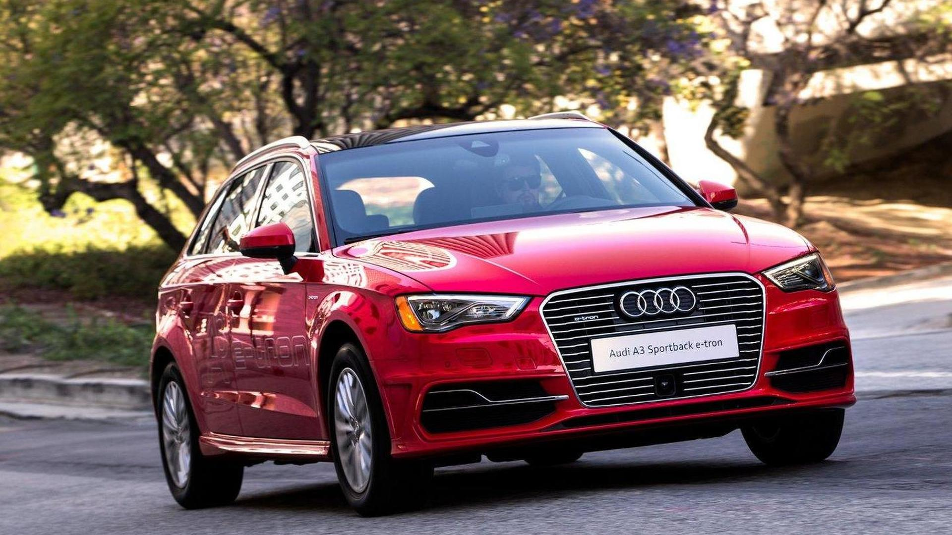 2016 Audi A3 Sportback e-tron priced from $37,900