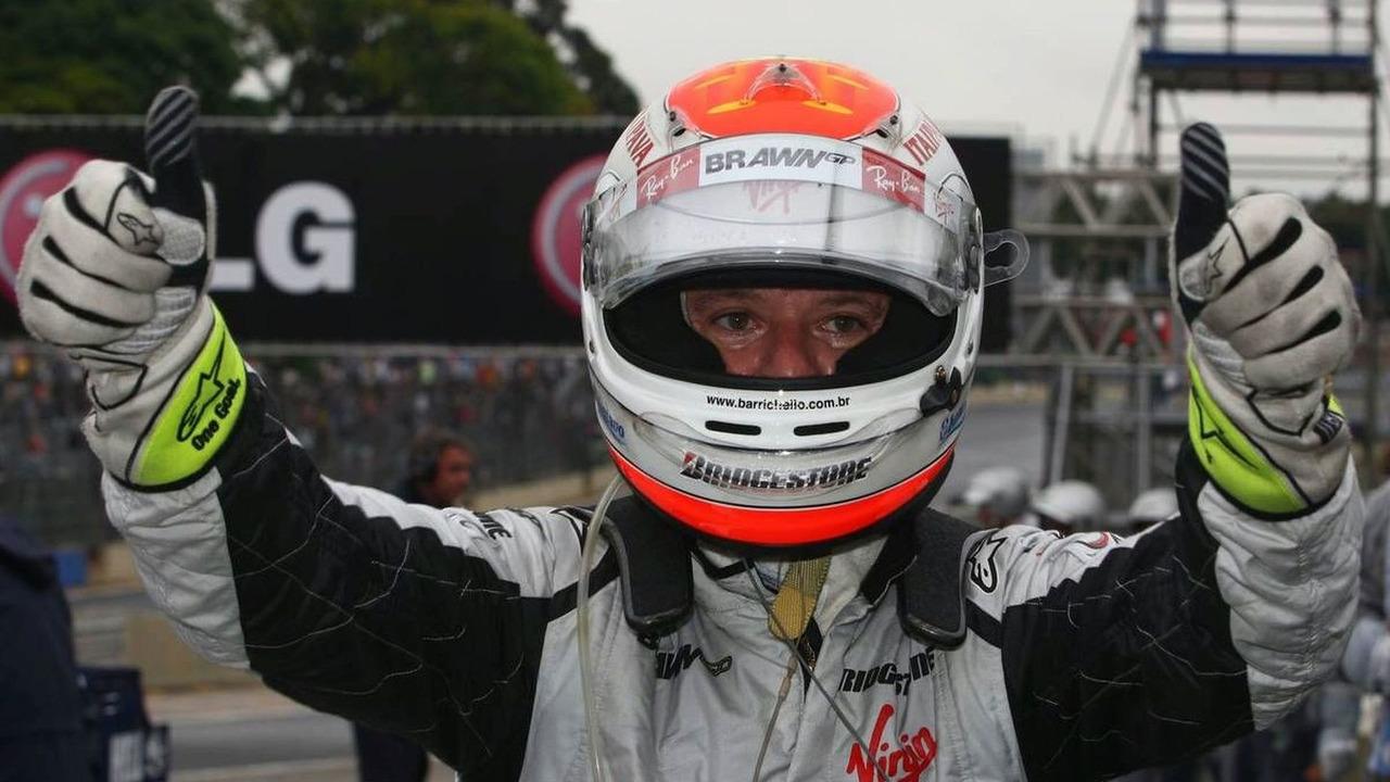 Rubens Barrichello (BRA), Brawn GP, Brazilian Grand Prix, Saturday Qualifying, Sao Paulo, Brazil, 17.10.2009