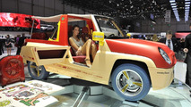 Rinspeed Bamboo brings the beach to Geneva