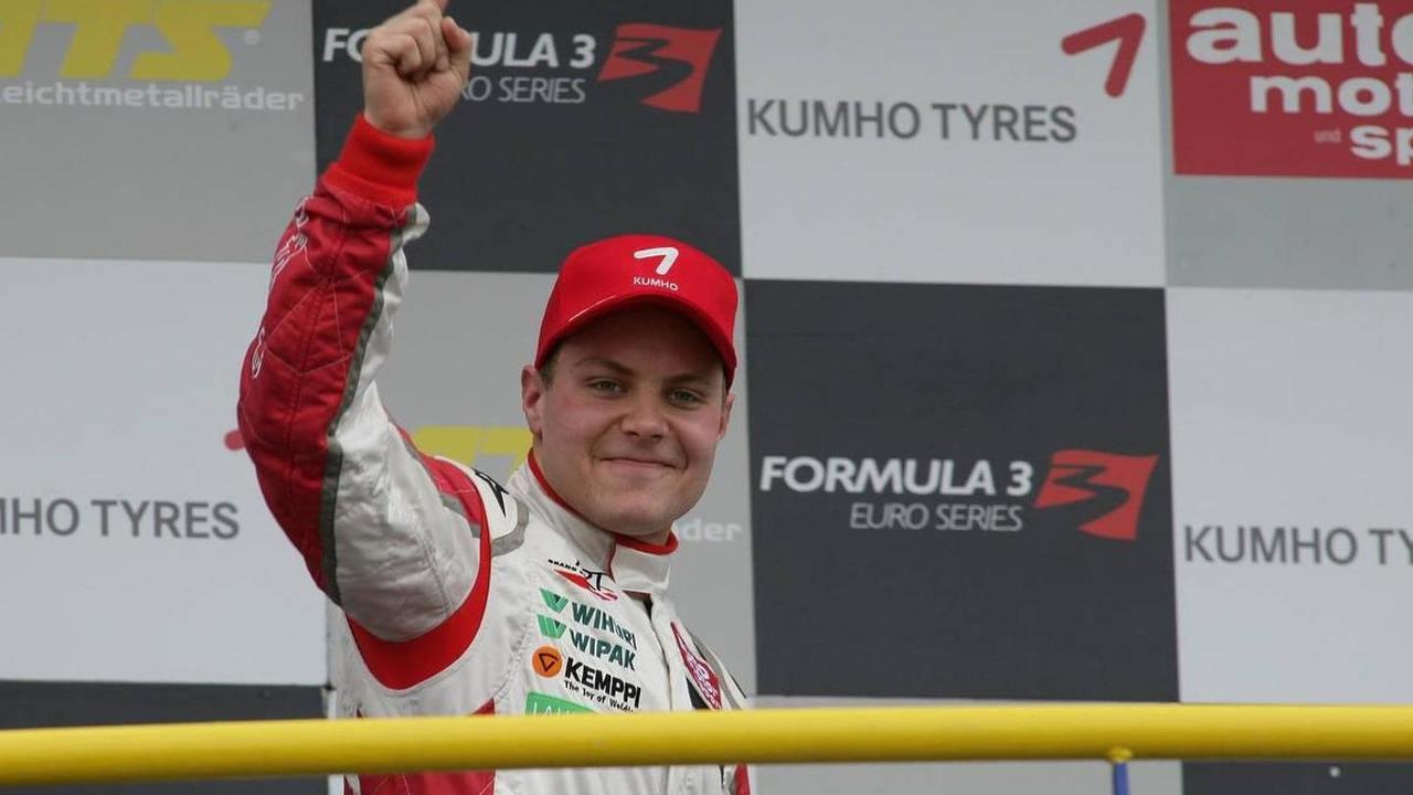Winner Valtteri Bottas (FIN), ART Grand Prix, Dallara F308 Mercedes - F3 Euro Series 2010 at Circuit Park Zandvoort, The Netherlands, 18.09.2010