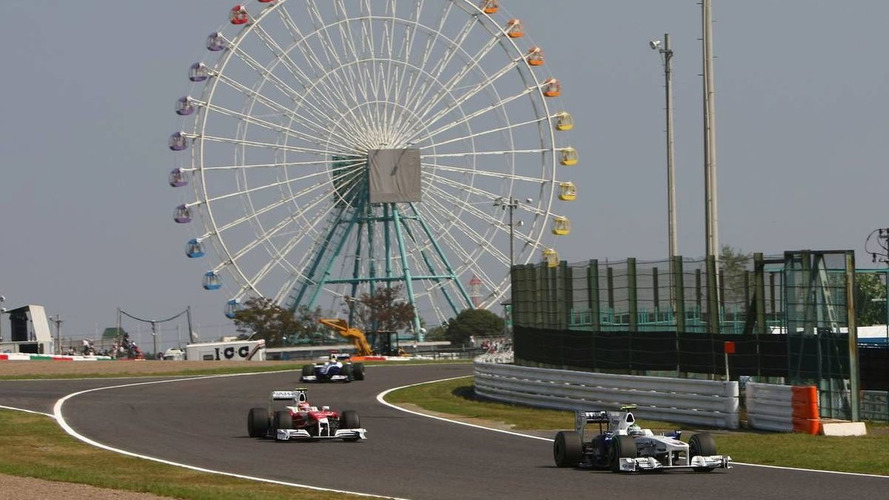 Stewards demote five drivers for Japan GP - updated results