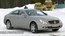 SPY PHOTOS: Mercedes CLS Facelift