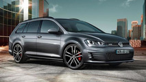 Volkswagen Golf GTD Variant revealed ahead of Geneva debut