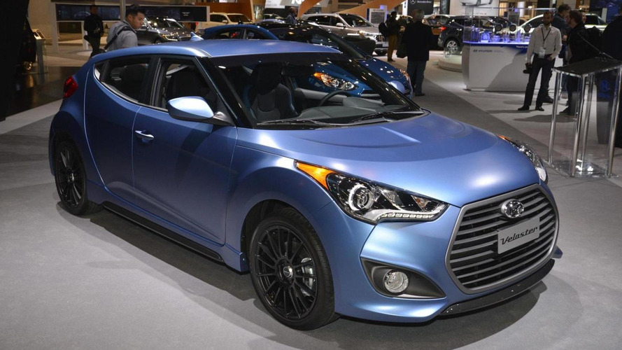 2016 Hyundai Veloster Rally Edition bows in the Windy City
