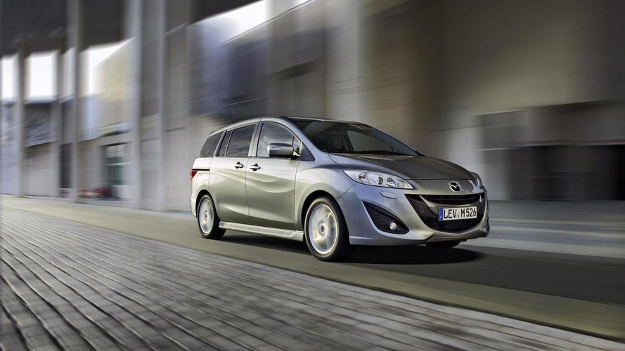 2013 Mazda5 introduced with minor updates