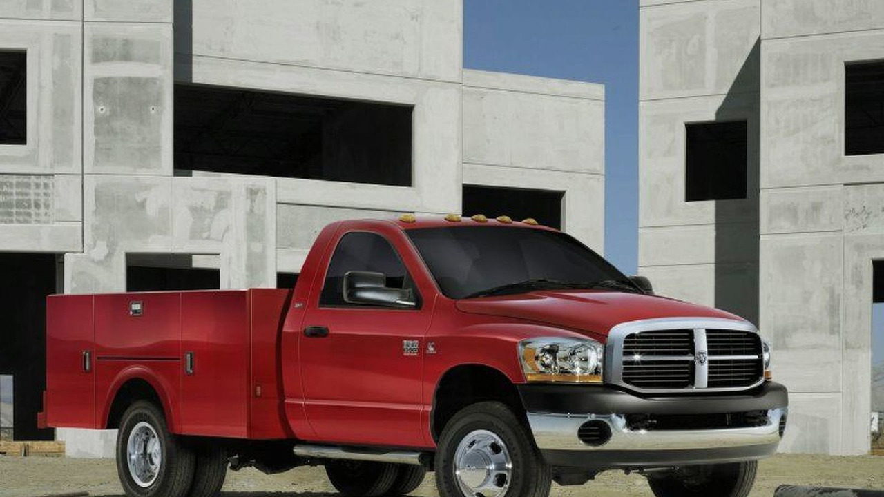 2007 Dodge Ram 3500 Chassis Cab