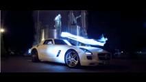 VÍDEO: Comercial do Mercedes SLS AMG exibido no Reino Unido