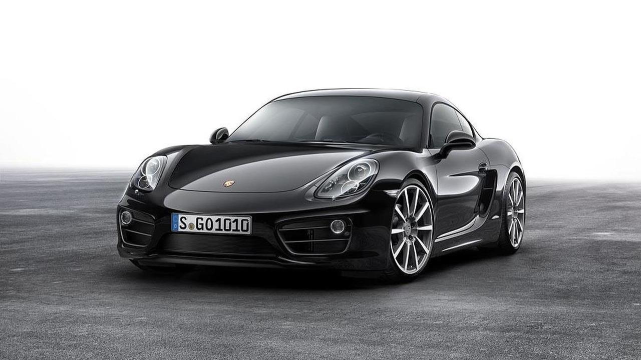 Porsche Cayman Black Edition