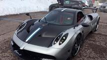 Pagani Huayra BC getting 100 hp more, 330 lbs less