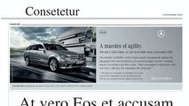 New Mercedes-Benz brand identity