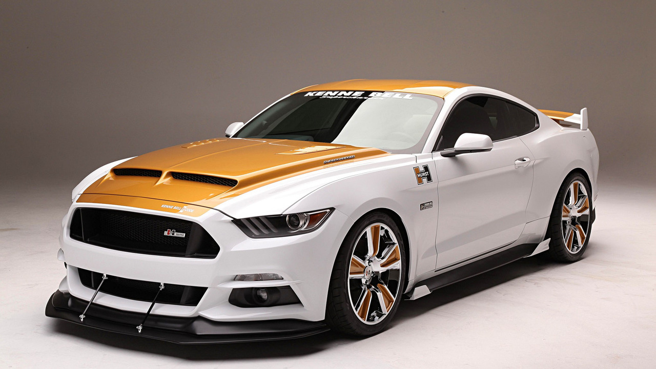 supercharged 750 hp ford mustang puts on flashy suit for sema. Black Bedroom Furniture Sets. Home Design Ideas