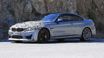 2017 BMW M4 facelift spy photos