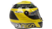 Nico Rosberg 2013 Schuberth helmet