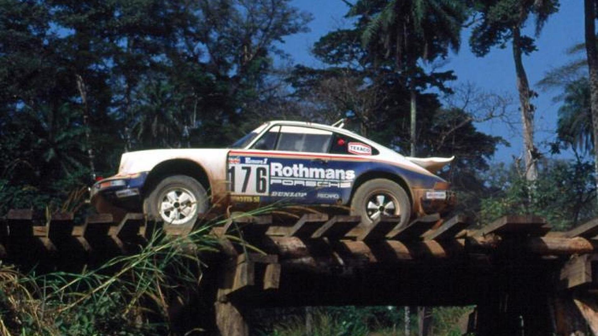 Porsche showcases the 911's alter ego, the rally winning 953 [video]