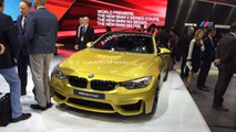 2014 BMW M4 Coupe at 2014 NAIAS