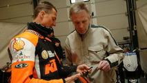 Schumacher and his Schuberth Race helmet