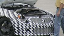 Cadillac CTS-V Engine Bay Spy Photos