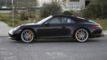 2013 Porsche 911 Targa spied up close