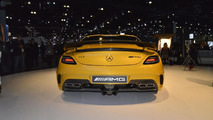 2014 Mercedes SLS AMG Black Series live in L.A. 29.11.2012