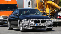 BMW 4 Series Coupe facelift spy photos