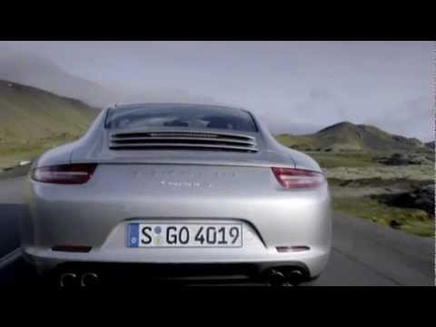 2012 Porsche 911 Carrera S Driving Footage
