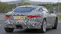 2017 Jaguar F-Type with four-cylinder engine spy photo
