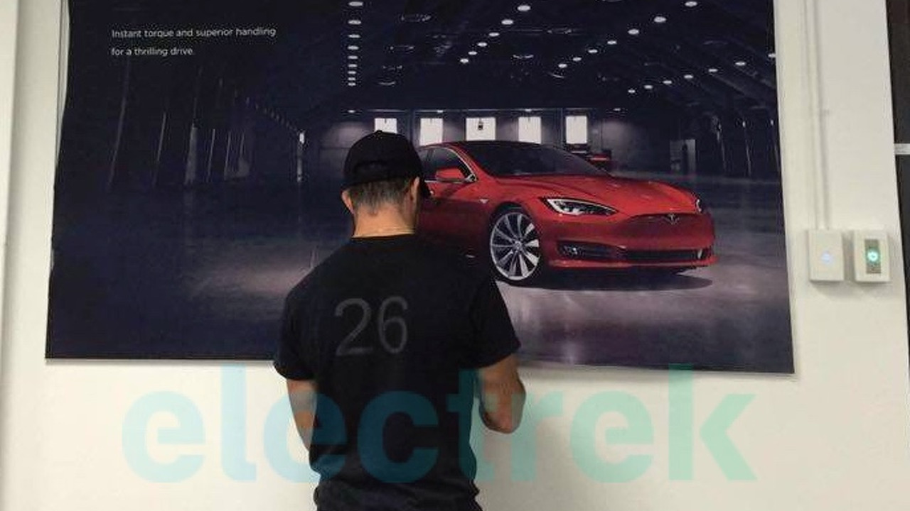 2017 Tesla Model S facelift (not confirmed)