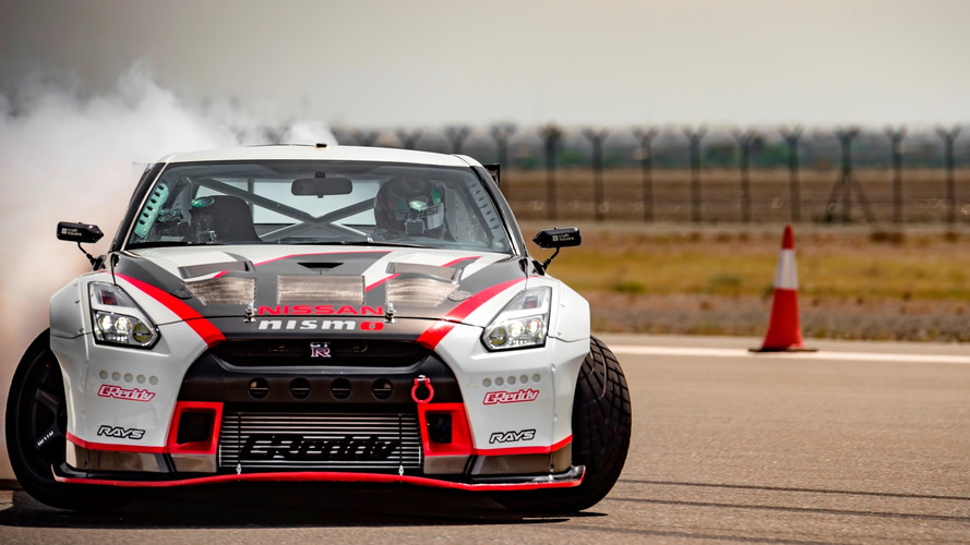 Nissan finally shows us GT-R Nismo drift record