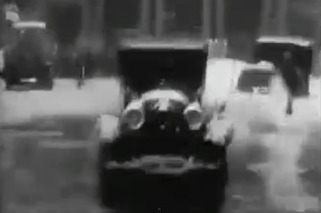 1926 Firefighter Dashcam Footage Possibly Worlds Oldest
