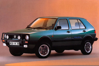 VW Golf Country Syncro: Before Crossovers Were Cool