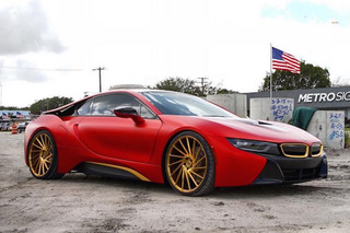 Hot or Not? Austin Mahone Gave His BMW i8 A Unique Twist