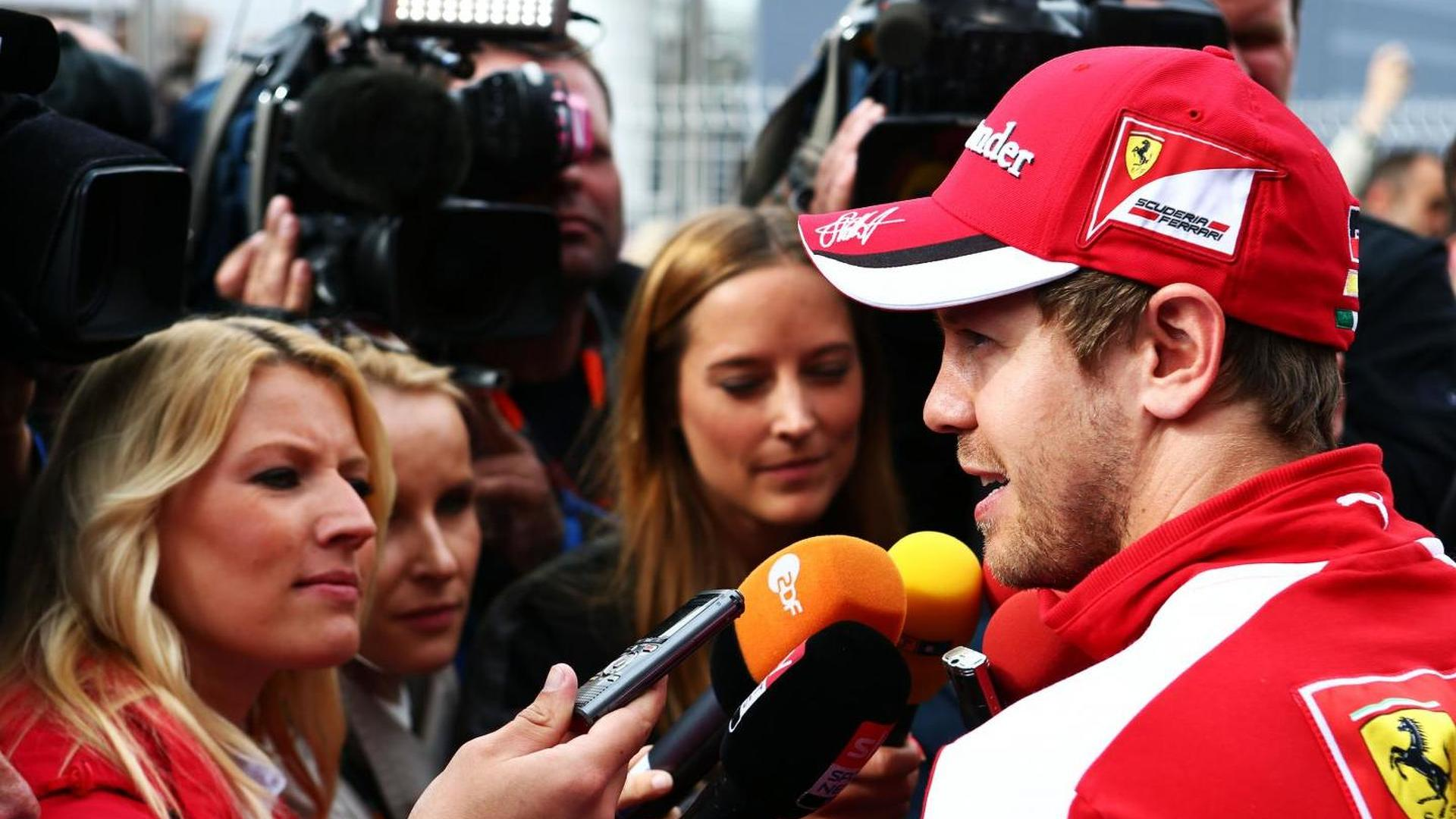 Vettel featured in giant cigarette ads