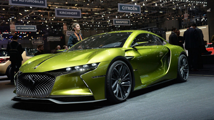 DS E-TENSE concept visits Geneva from the future
