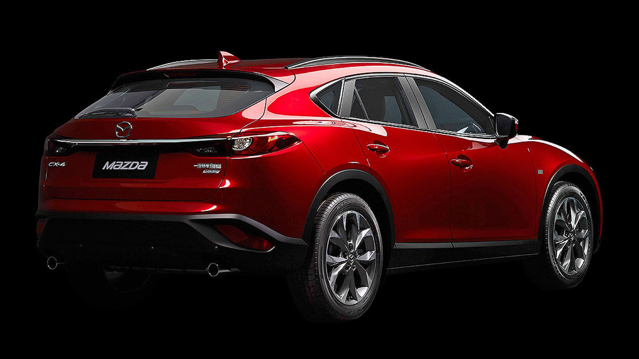 Mazda Cx 4 Breaks Cover As China Only Model