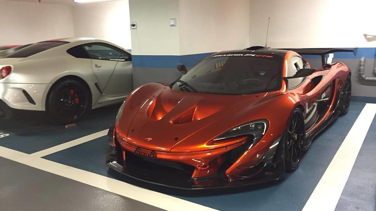 Possible road-legal McLaren P1 GTR