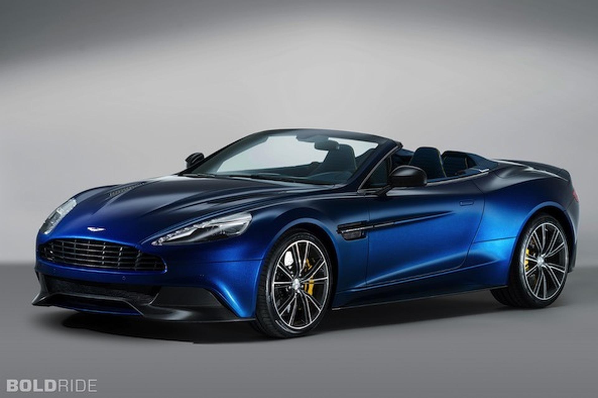 Aston Martin Vanquish Volante Drops its Top for $300K