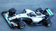 Day of contrasts marks start of test season