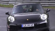 Possible Porsche 911 Hybrid spied testing on the Nurburgring [video]