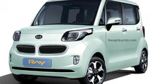 Kia with kidney grille / Theophilus Chin