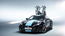 Jaguar unveils one-off F-Type R Coupe support vehicle for Tour de France