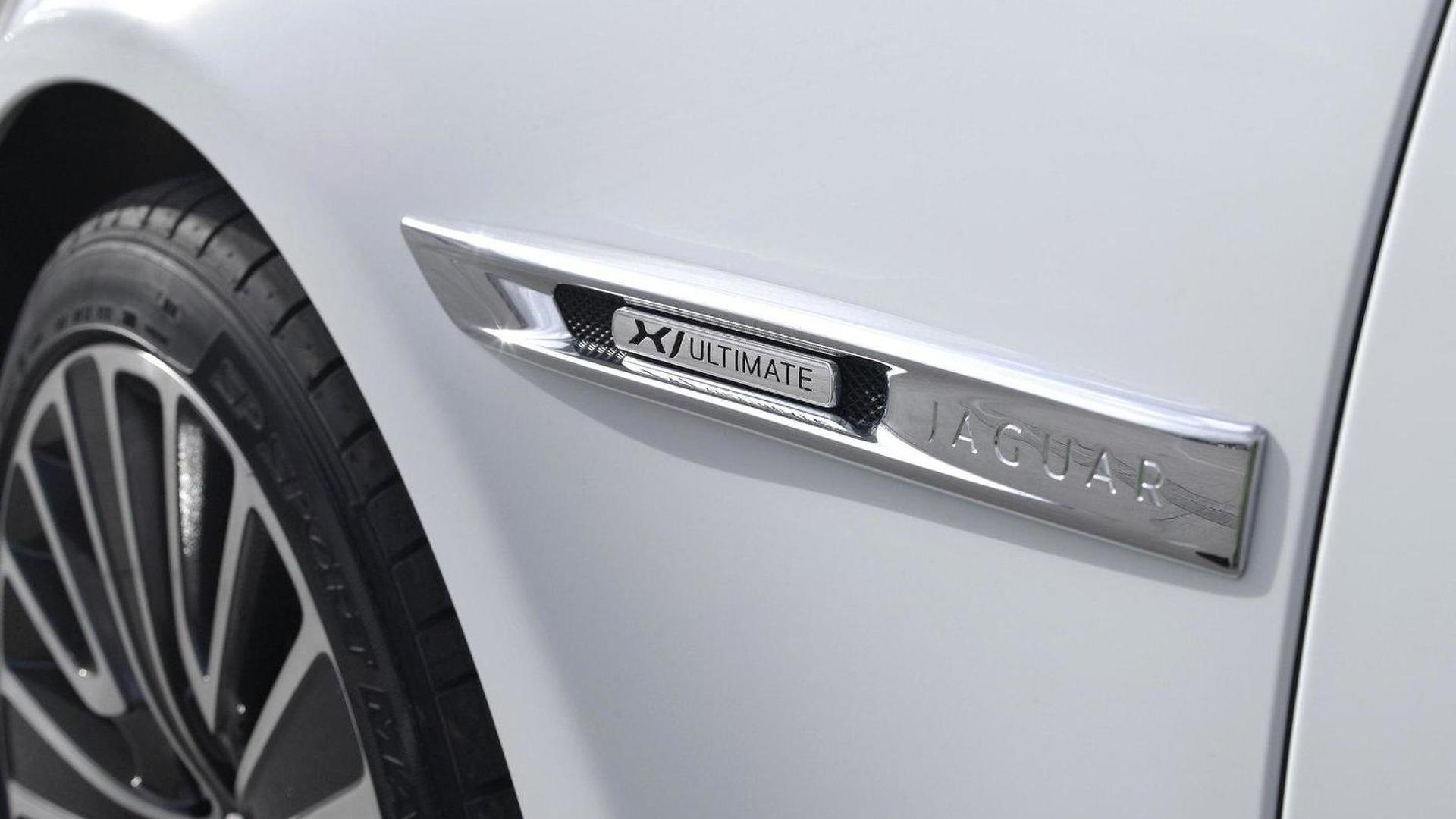 Jaguar XJ Ultimate revealed for Beijing