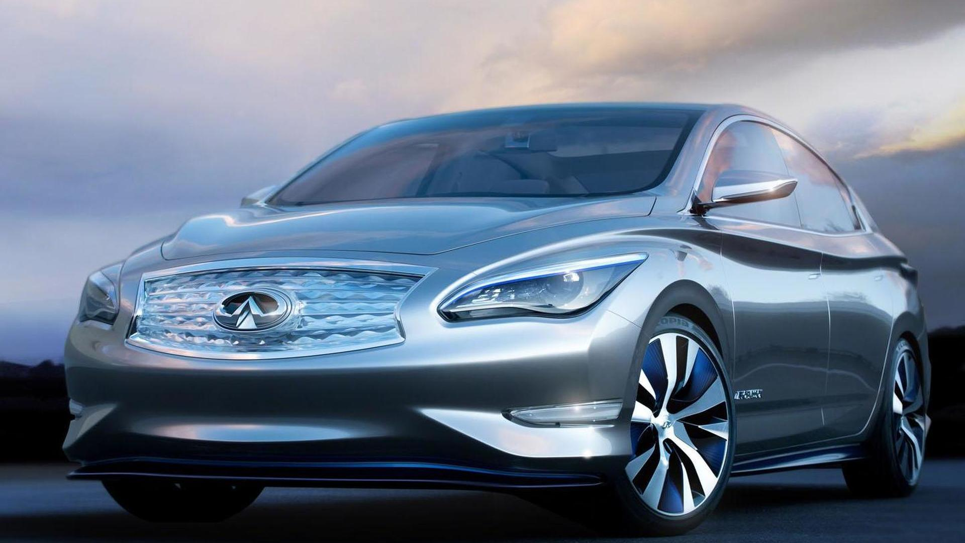 Infiniti reportedly shelves their electric vehicle