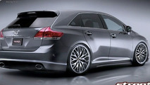 Toyota Venza Project Car Set for SEMA
