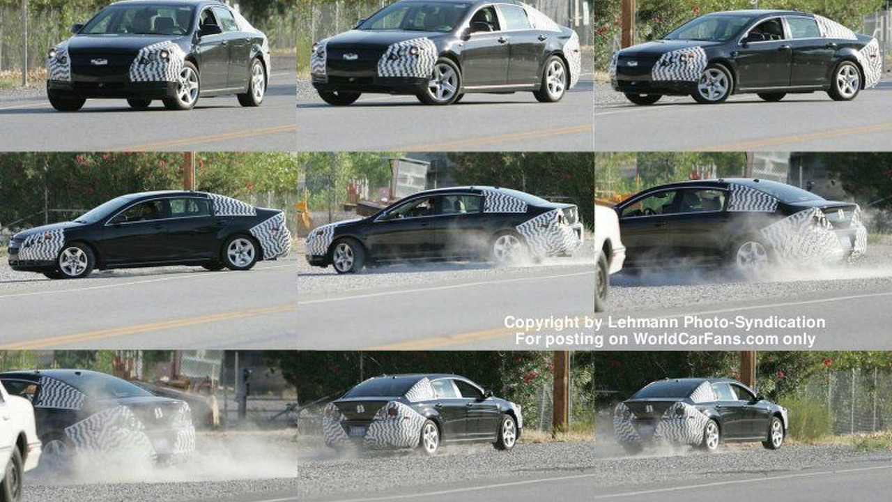 SPY PHOTOS: Next Gen Chevy Impala?
